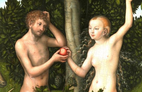 {{title|{{Adam and Eve}}}}1526{{Technique|oil|panel}}{{Size|cm|117|80}}